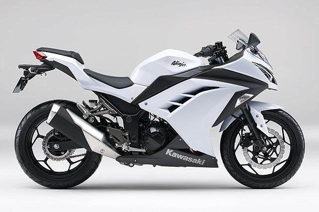 Ninja250/パールスターダストホワイト(WHT)