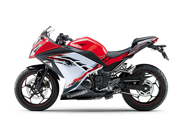 Ninja250 ABS Special Edition/パッションレッド×パールスターダストホワイト(RED)