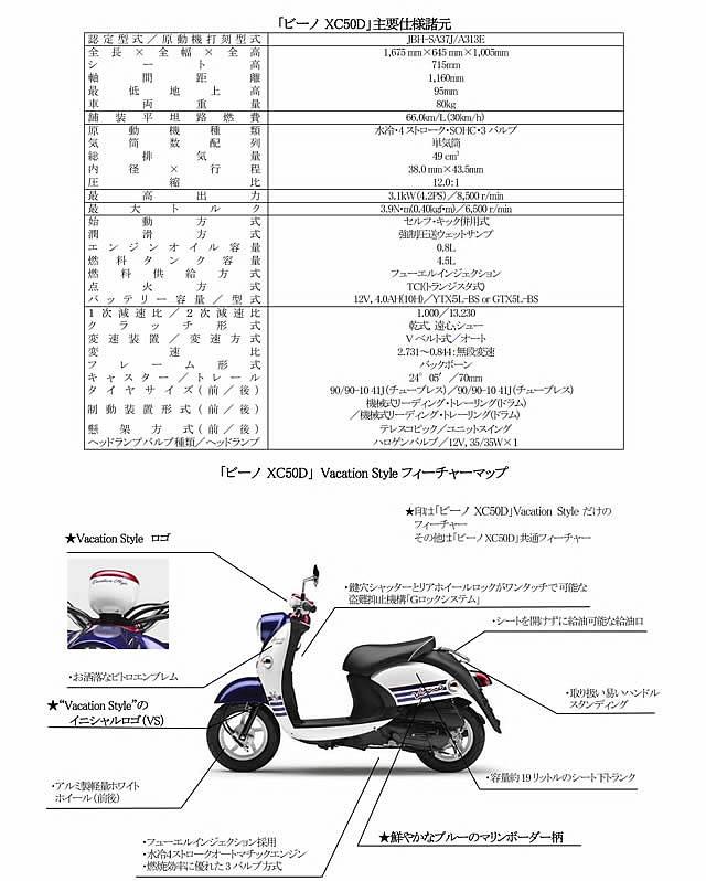 ビーノ XC50D VacationStyle