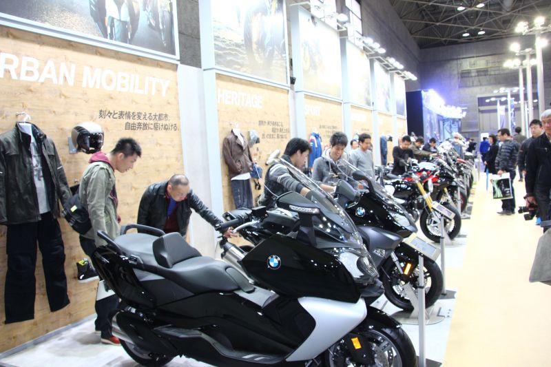 【BMW】大阪モーターサイクルショー2016 BMWブース 写真速報 画像