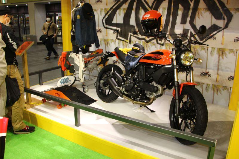 【ドゥカティ】大阪モーターサイクルショー2016 ドゥカティブース 写真速報 画像