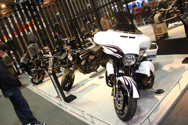 【ハーレーダビッドソン】大阪モーターサイクルショー2016 ハーレーダビッドソンブース 写真速報 画像