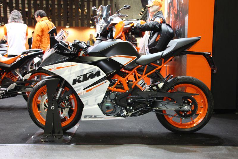 【KTM】大阪モーターサイクルショー2016 KTMブース 写真速報 画像