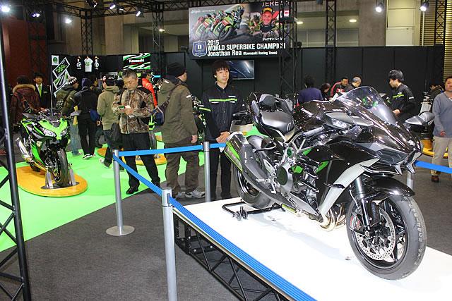 【カワサキ】第43回東京モーターサイクルショー カワサキブース 写真速報 画像