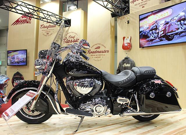 【インディアン】第43回東京モーターサイクルショー インディアンブース 速報