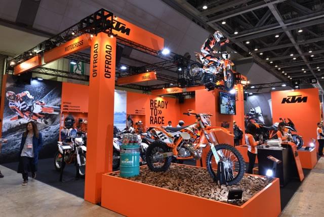 【KTM】第43回東京モーターサイクルショー KTMブース 速報