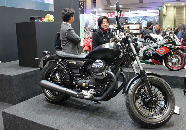 【ピアッジオ】第43回東京モーターサイクルショー ピアッジオブース 速報