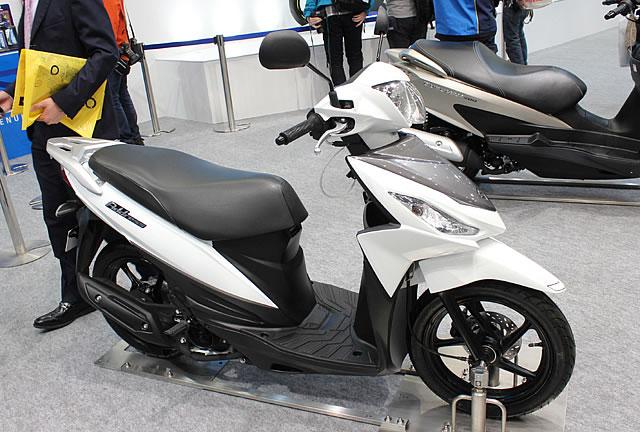 【スズキ】第43回東京モーターサイクルショー スズキブース