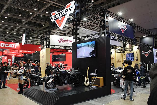 【ヴィクトリー】第43回東京モーターサイクルショー ヴィクトリーブース 速報 画像