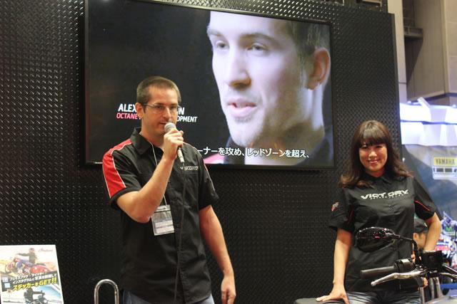 【ヴィクトリー】第43回東京モーターサイクルショー ヴィクトリーブース 速報