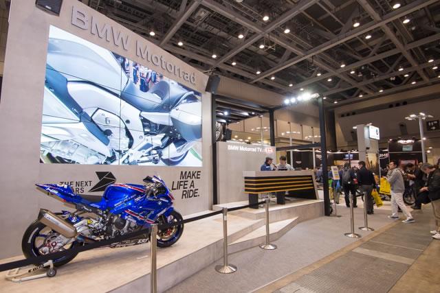 【BMW】第43回東京モーターサイクルショー BMWブース