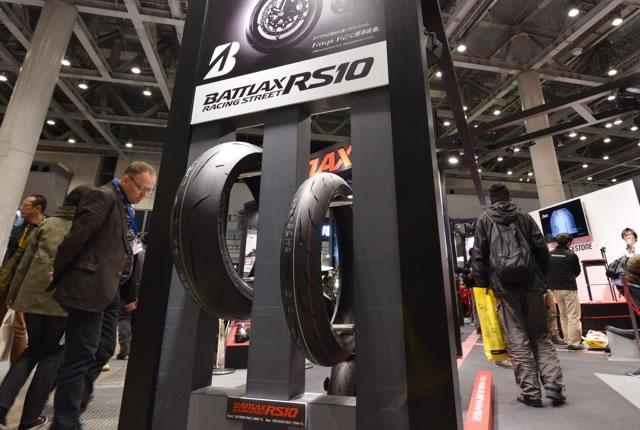 東京MCS2016ピックアップ タイヤの路面挙動が見える! ブリヂストンブース 画像