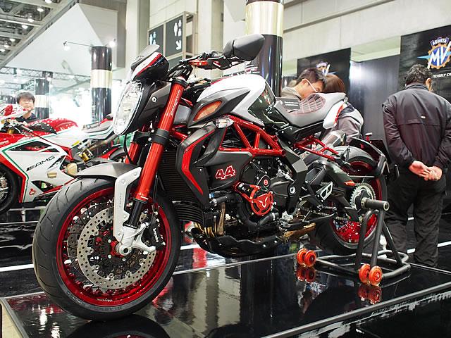 【MVアグスタ】第43回東京モーターサイクルショー MVアグスタブース