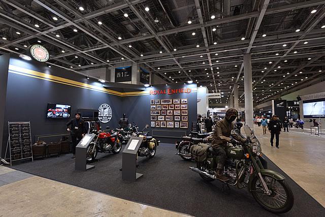 【ロイヤルエンフィールド】東京モーターサイクルショー2016 ブース画像