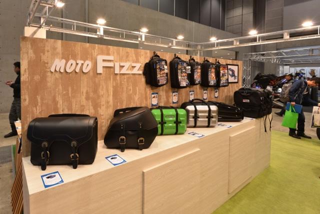 東京MCS2016ピックアップ ツーリングバッグやミラーのタナックスブース