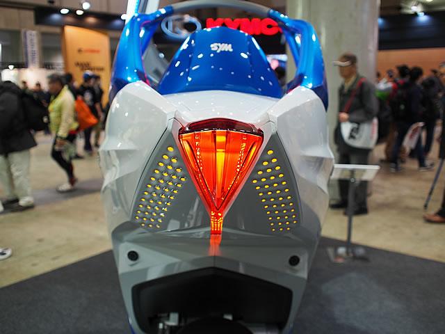 【SYM】第43回東京モーターサイクルショー SYMブース 画像