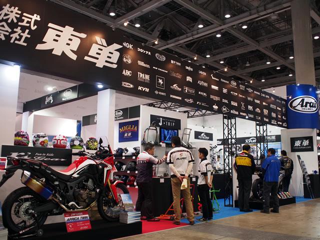 東京MCS2016ピックアップ ヘルメットもパーツもボリューム満点 東単ブース 画像