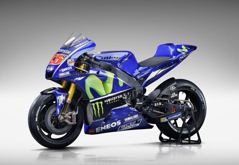 2017年MotoGP世界選手権Movistar Yamaha MotoGPチーム体制