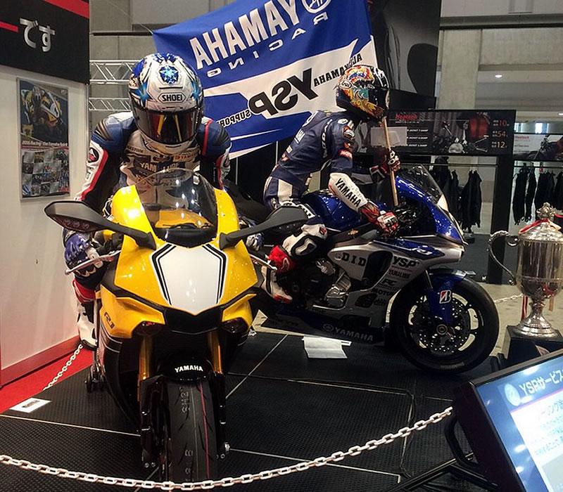 第44回東京モーターサイクルショーYSPブース