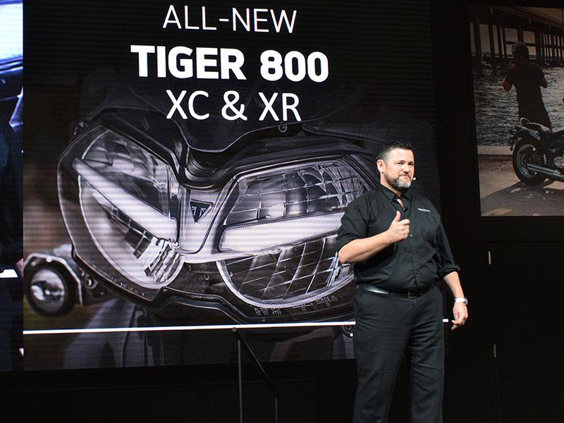 世界初公開の新生タイガー800&1200!【EICMA2017/トライアンフブース速報】