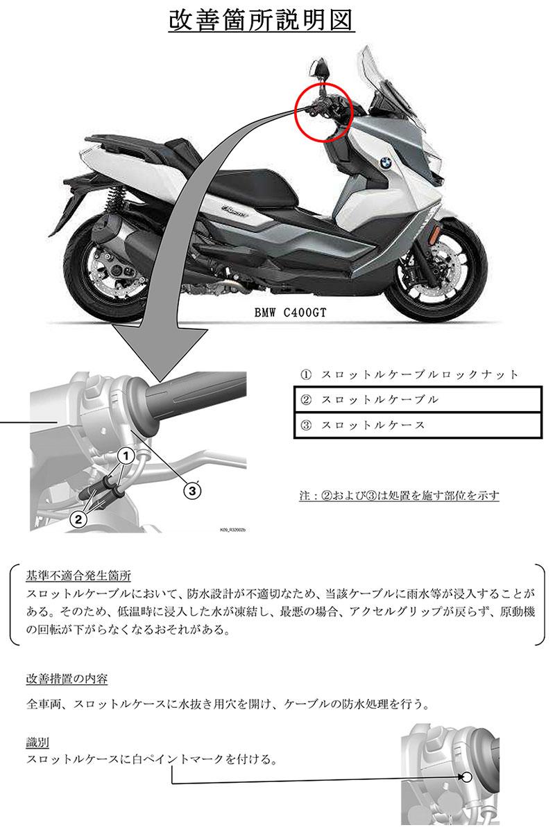 BMW C400GT C400X 記事2