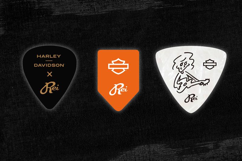 【ハーレー】「FREEDOM PROMISE」の CM に Rei の楽曲を採用! 限定ギターピックが当たる Twitter キャンペーンを6/15まで実施中 記事1