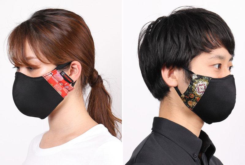 金襴織物が使われたデグナーの布製マスク「モトマスク」が6月上旬発売予定 本年度売上の50%を医療支援団体に寄付予定 記事6