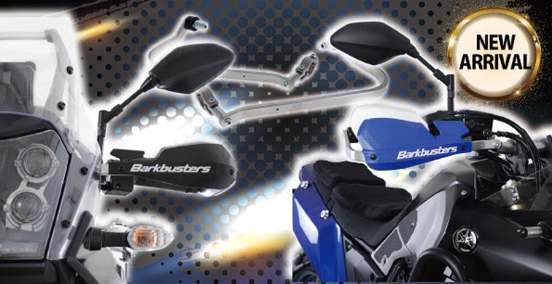 Tenere 700 用のハンドルガードが「Bike Specific Handle Guard Kit」ネクサスから発売 Barkbusters 製 記事1