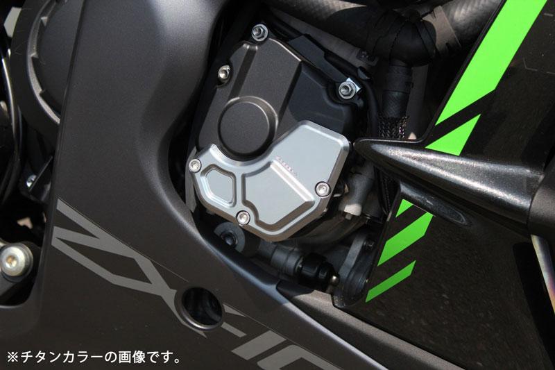 SPEEDRA からカワサキ ZX-10R('16~)用のエンジンカバーとフレームスライダーが発売 記事1