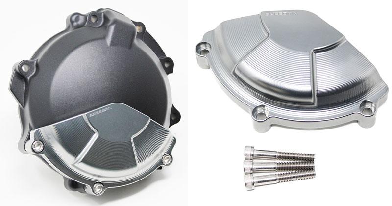 SPEEDRA からカワサキ ZX-10R('16~)用のエンジンカバーとフレームスライダーが発売 記事4