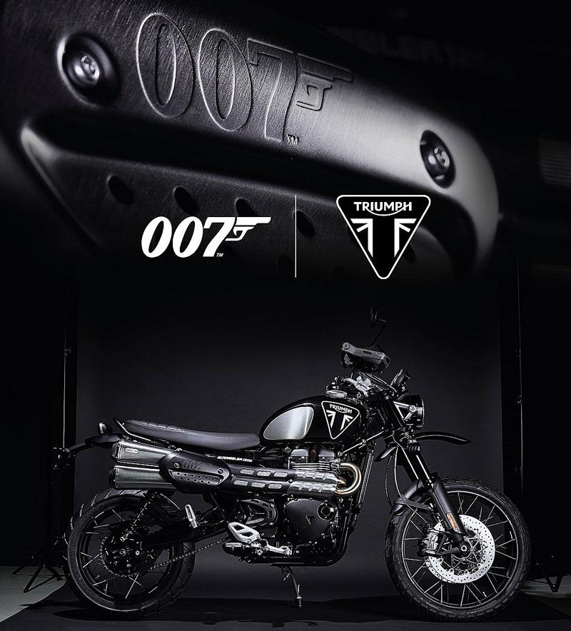 トライアンフ Scrambler 1200 Bond Edition メイン