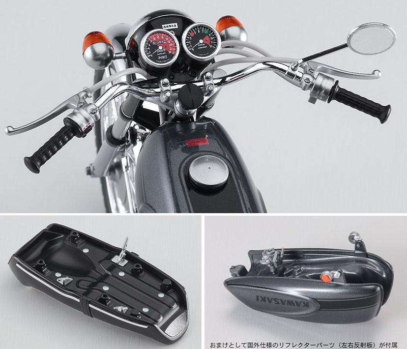 ハセガワから1/12スケールのプラモデル「カワサキ 500-SS/MACH III(H1)」が7月末に発売 記事6