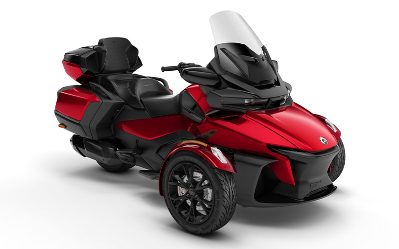 3輪モーターサイクル「Can-Am Spyder RT」がフルモデルチェンジ 記事4