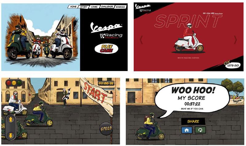 Vespa GTS Super 150 Racing Sixties Vespa Sprint 150 Racing Sixties 記事6