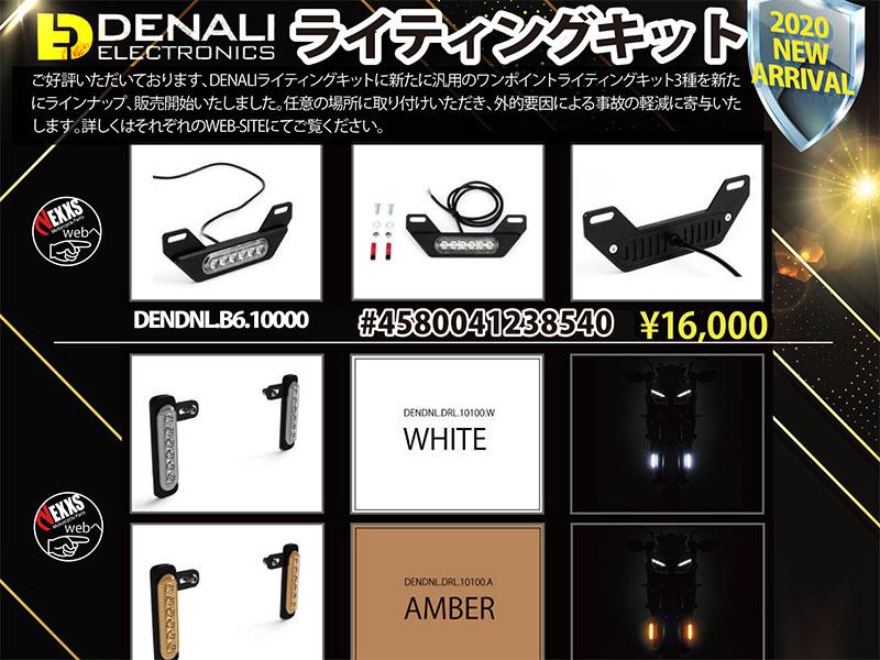 DENALI ELEC&TRONICS汎用ライティングキットメイン