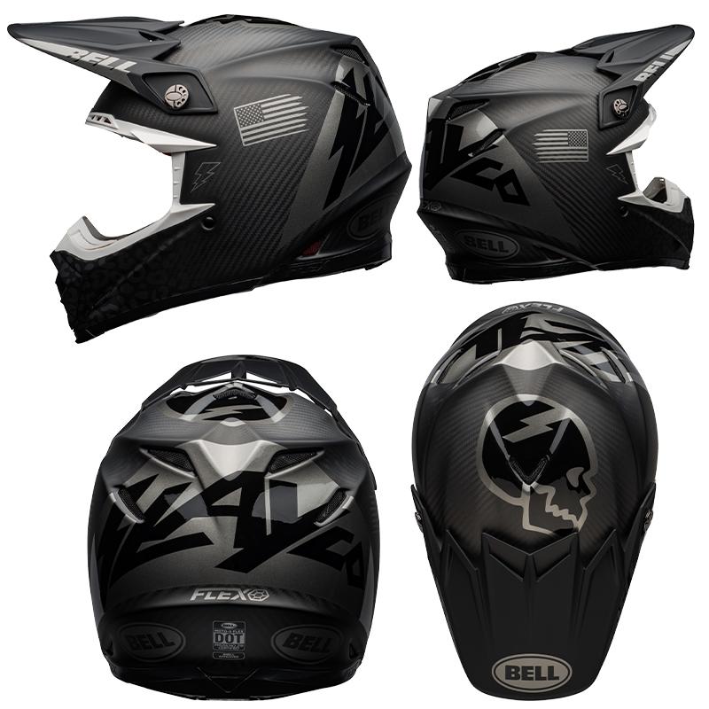 ダートフリークからアクセル・ホッジスのグラフィックレプリカモデル「MOTO-9 FLEX ヘルメット スレイコー」が発売 記事2