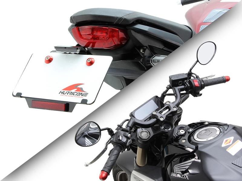ハリケーンから CBR650R / CB650R 用「フェンダーレス kit」と CB650R 用「FATスワロー専用ハンドル」が発売 メイン