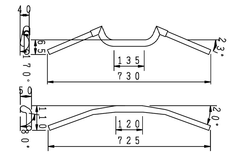 ハリケーンから CBR650R / CB650R 用「フェンダーレス kit」と CB650R 用「FATスワロー専用ハンドル」が発売 記事7