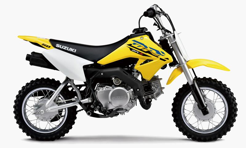 スズキが子供用オフロード入門バイク「DR-Z50」のグラフィックを変更し2020年6月30日(火)に発売 記事1