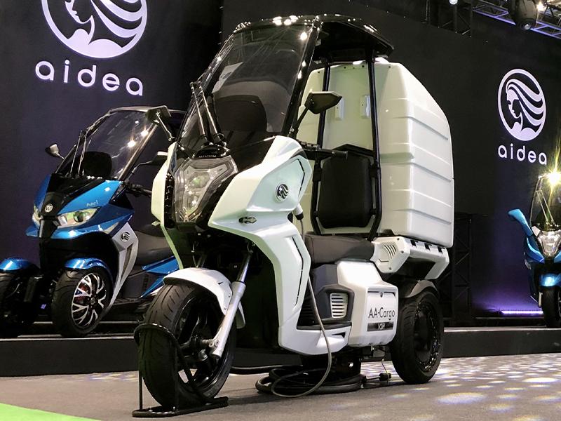 aidea(アイディア)株式会社が3輪電動スクーター「AAカーゴ」シリーズを発売 メイン