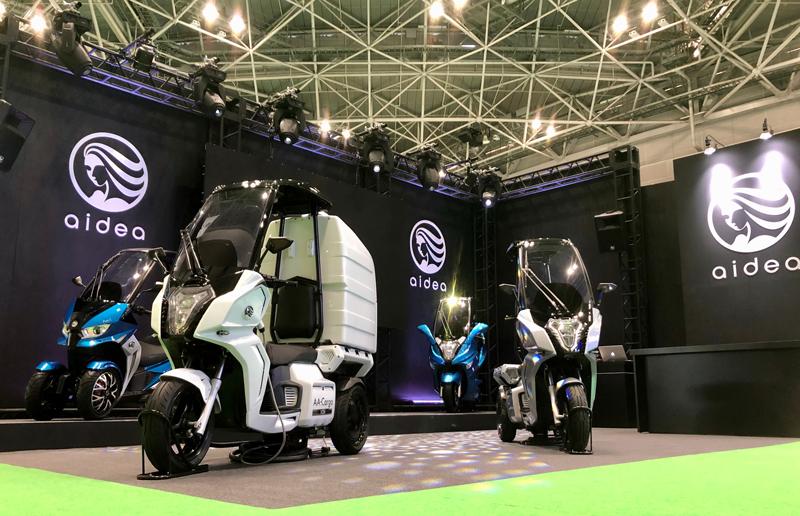 aidea(アイディア)株式会社が3輪電動スクーター「AAカーゴ」シリーズを発売 記事2