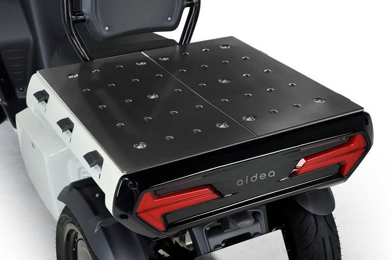 aidea(アイディア)株式会社が3輪電動スクーター「AAカーゴ」シリーズを発売 記事14