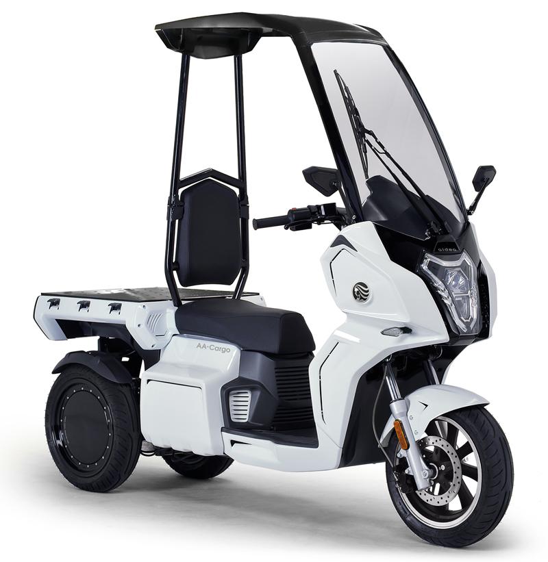 aidea(アイディア)株式会社が3輪電動スクーター「AAカーゴ」シリーズを発売 記事18