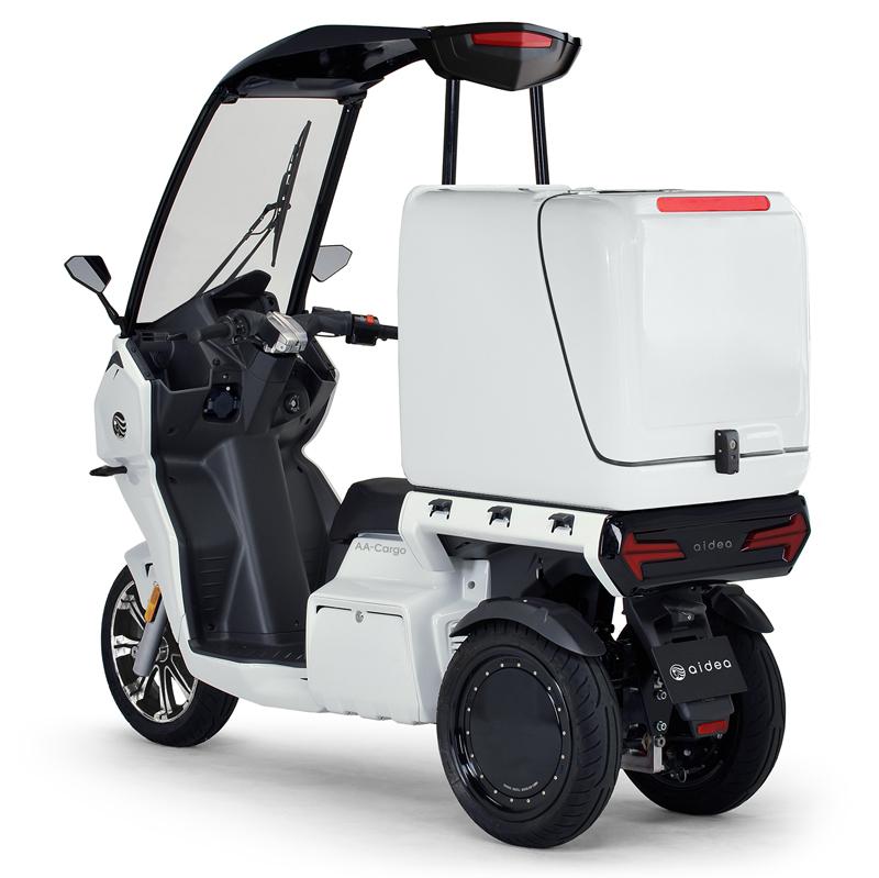 aidea(アイディア)株式会社が3輪電動スクーター「AAカーゴ」シリーズを発売 記事19