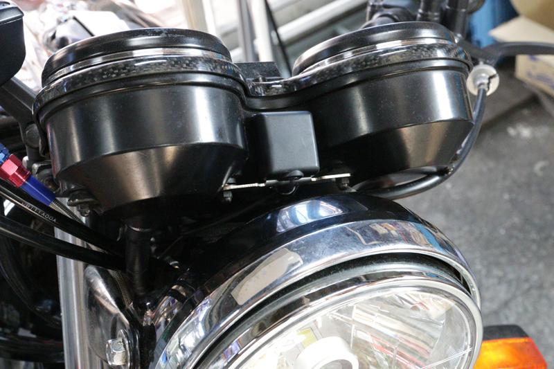 T.T.Rモータースから、ホンダ CB-F シリーズ用の ETC アンテナステーとカーボンメーターカバー3モデルが登場 記事1