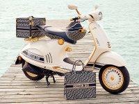 ベスパがクリスチャン・ディオールとのコラボレーションモデル「Vespa 946 Christian Dior」を発表 メイン