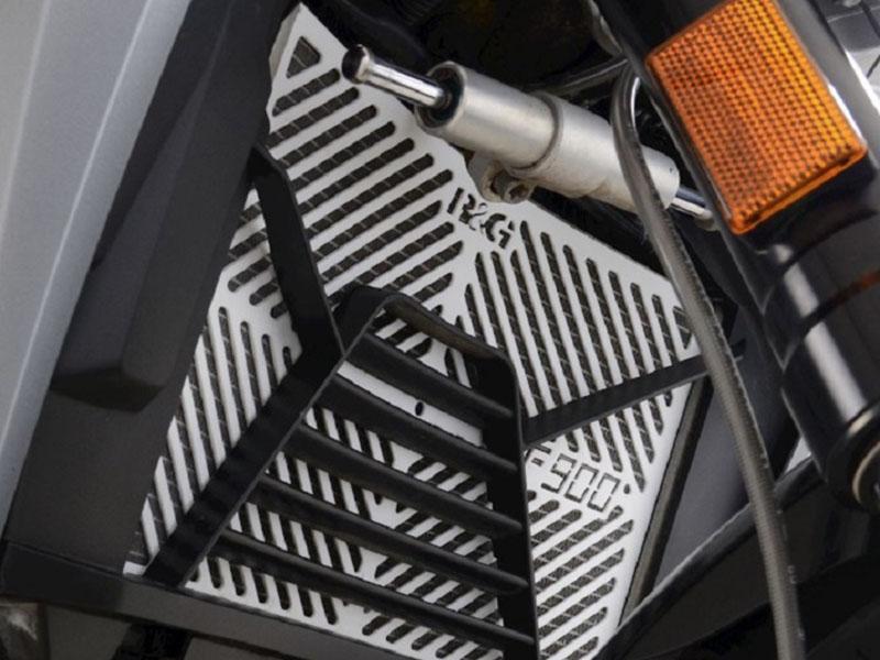 ネクサスから F900R/F900XR('20〜)用「R&G RACING ステンレスネーミングラジエターガード」が発売 メイン