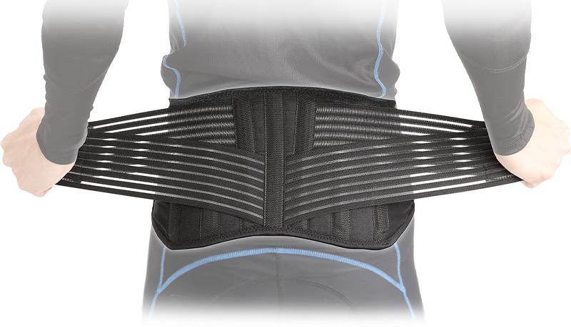 ツーリング時の腰の疲れをサポートするウエストベルト DFG の「アクシス ライディングベルト」が販売中 メイン