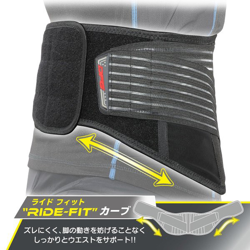 ツーリング時の腰の疲れをサポートするウエストベルト DFG の「アクシス ライディングベルト」が販売中 記事1