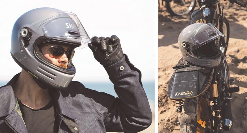 ショウエイがネオクラシックフルフェイスヘルメット「Glamster」の詳細を発表 記事15